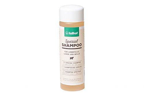 Fellhof Fellshampoo Shampoo für Lammfelle Leder Wolle 250 ml Waschmittel Lammfellwaschmittel