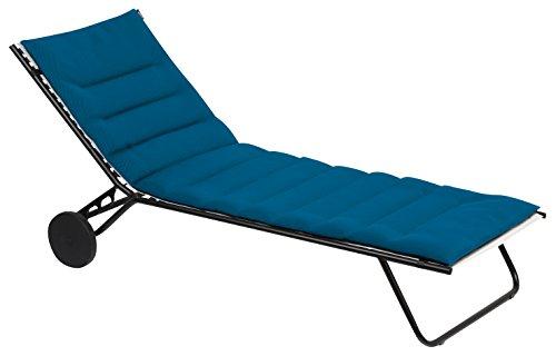 Lafuma gepolsterte Air Comfort Auflage für Sonnenliegen, coral blue (türkis)