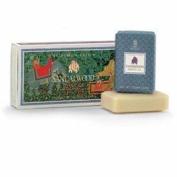 Crabtree & Evelyn Sandalwood Aromatic Soap 3x150g