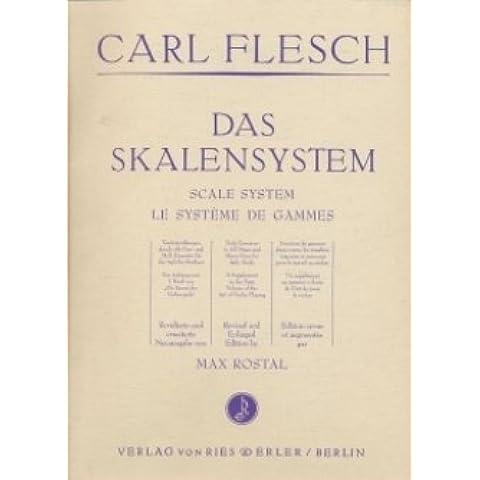 Il sistema scala–arrangiate per violino [Note musicali/holzweißig] compositore: Flesch
