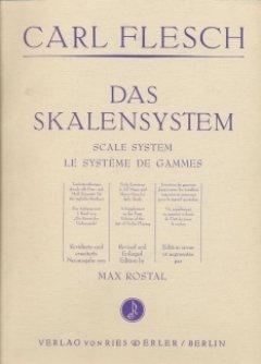 DAS SKALENSYSTEM - arrangiert für Violine [Noten / Sheetmusic] Komponist: FLESCH CARL - VL