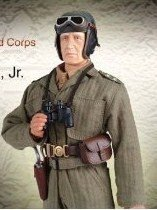 Major General George Patton 1st Armored 12 inch Action Figure by Dragon [Toy]