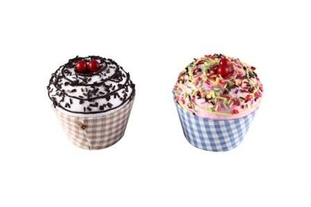 """Articulo: Cajita en forma de tarrina de helado """"cupcake"""""""