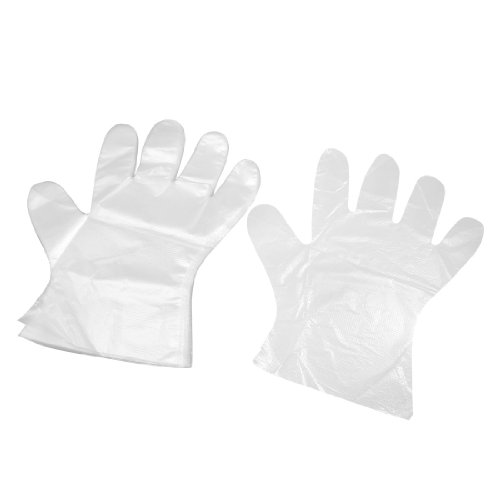 100-Pcs-Food-Service-Hand-Protective-Plastic-Disposable-Gloves-Clear