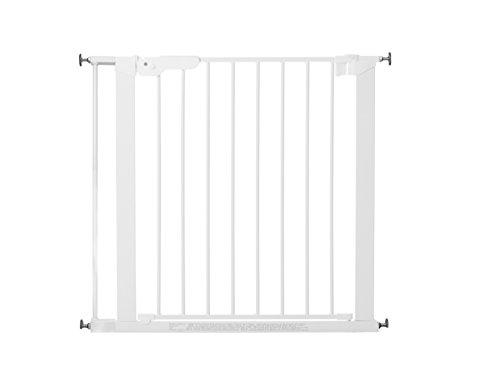 BabyDan Barrière de Sécurité Fixation par Pression, Blanc, 73,5-99,8 cm