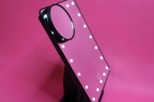 Miroir à LED avec 20 lumières