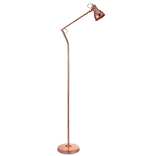Versanora Stylish Standard Stehlampe Rotgold ModerneBeleuchtungVN-L00014-EU - Standard Stehlampe Deckenfluter Ist