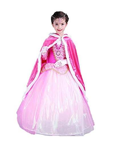Disfraz Navidad niños Sofía Capa Capucha Cabo Princesa