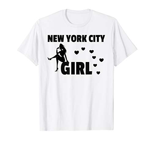 New York City Girl Womens Girls Gift T-Shirt -