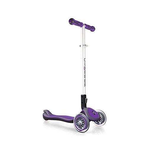 Globber NTGB0000446-103 Trottinette 3 Roues Pliable Mixte Enfant, Violet
