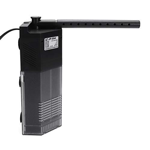 TuToy 3 In 1 Aquarium Interner Filter Wasser Unterwasser-Unterwasser-Pumpe Fisch-Tank Sauerstoff Spray Tool - 3W -