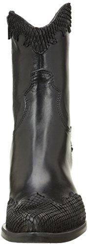 Nero california Piu Schwarz amp; Stiefel Noir Donna 8356 Nero mamba Enea Damen Stiefeletten TwxpOZqS1