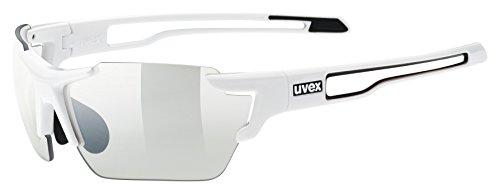 Uvex Erwachsene Sportstyle 803 small vario Sportbrille, white, One Size