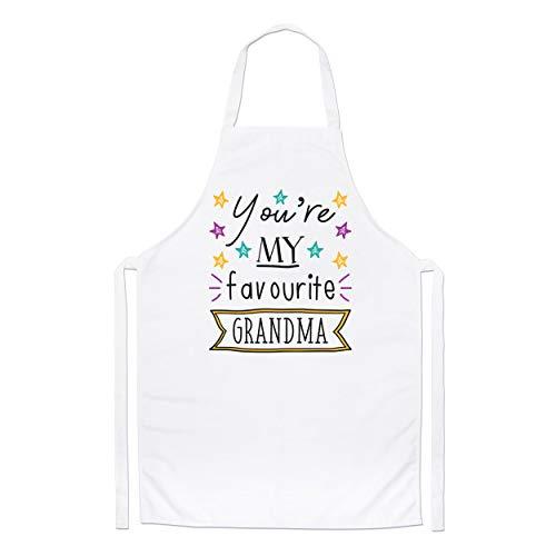You'Re My Favourite Abuela Estrellas Chefs Delantal