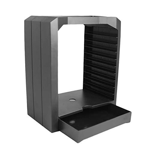 Uhwwdjhke Spiel Discs Rack, Universal-Spiele Discs Storage Tower Halter Veranstalter Rack für PS4 Slim PS3 PS2 Xbox ONE S X 360 (Color : -, Size : -) (Spiel Tower Ps3)