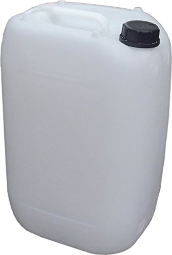 2 25 litre natural in colour jerry can water containers