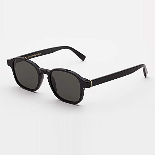 Sunglasses Super by Retrosuperfuture Sol Black 85A Regular R 50 22 145 NEW