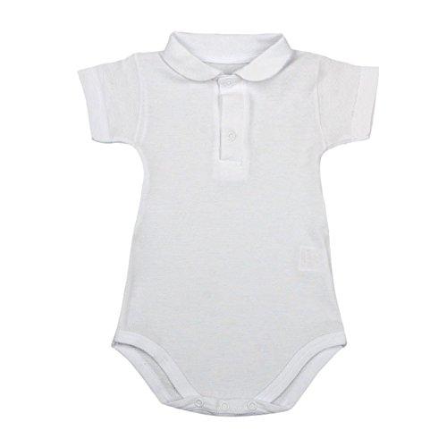 BabyVip - Tutina Body per Bambino e Bambina, Modello Classico A Manica Corta, Materiali Anallergici, Bottoni Automatici