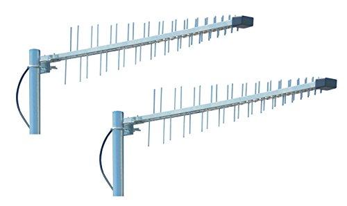 Wittenberg K-102864-10 LAT 56 Universal Antenne Duo Set (LTE 800, GSM 900, DCS1800, UMTS, 3G, WiFi) auch für LTE2