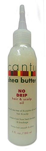 Cantu Shea Butter No Drip Hair & Scalp Oil 180ml (6oz) - 6 Oz Shea-butter