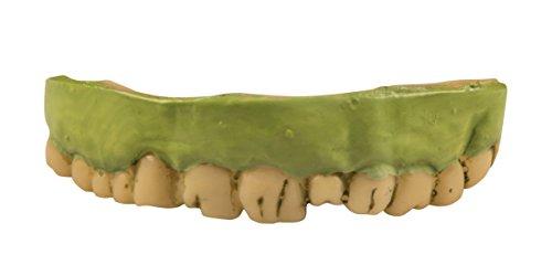 Boland–Zahnprothesen Zombie für Erwachsene, grün, One Size, 72057