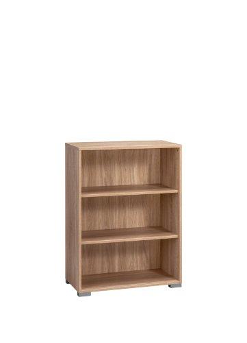 MAJA-Möbel 1727 5525 Aktenregal, Sonoma-Eiche-Nachbildung, Abmessungen BxHxT: 80 x 109,7 x 40 cm
