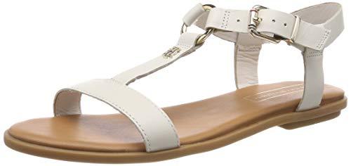 Tommy Hilfiger Elevated Leather Flat Sandal
