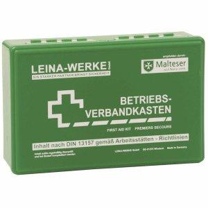 Leina-Werke Betriebs-Verbandkasten DIN13157 255x166x80mm grün