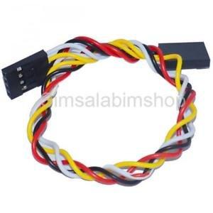 Alcoa Prime 5pcs 22cm 4-Pin Jumper Wire Cable For Arduino Breadboard Female to Female