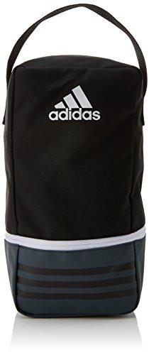 Adidas Tiro , Bolsa para Zapatos, Negro/Gris Oscuro/Blanco, 12 x 18 x 36 cm