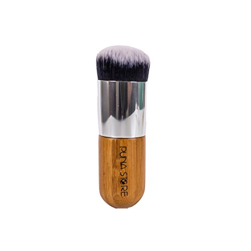 Puna Store Face Powder Blush Brush (Bamboo)