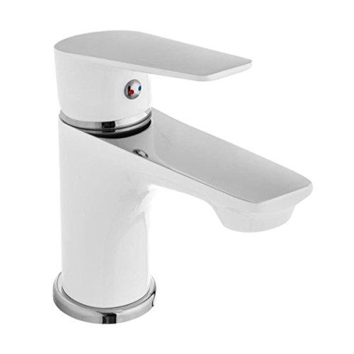 takestop grifo grifo blanco Londres 52572fregadero lavabo Pompeya 52439bidé baño caña Cocina Diseño Moderno Doble Dial Grifería