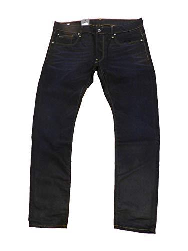 G-Star Herren Jeans Attacc Slim Straight Comfort LASH Twill Black W34L34