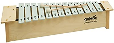 10109 16 Goldon y metalófono tonos Soprano juego de 7