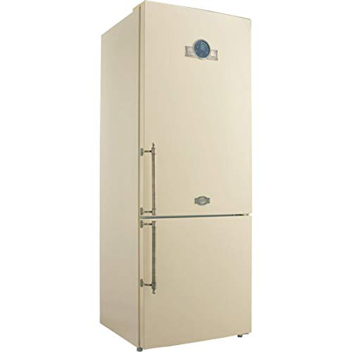 Kaiser KK 70575 ElfEm Empire Retro Kühl-Gefrier-Kombination 188cm Höhe,Intelligent system,No Frost, Kühlschrank,Cloud Fresh, kühl gefrierkombi,LED-Beleuchtung,BIO SAFE-Zero-Zone,Super Frost,FREEZE BOX