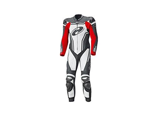 Held Rush 1-Teiler Motorrad Lederkombi 50 Schwarz/Weiß/Rot