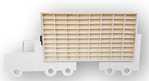 Dekoralove Hot Wheels Vitrine Matchbox Aufbewahrungsschrank Regal LKW Wandhalterung Rack für 80 Autos