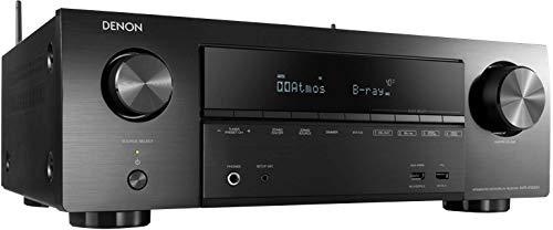 Denon AVRX1500H 7.2-Kanal AV-Receiver (HEOS Integration, Amazon Alexa Steuerung, Dolby Vision Kompatibilität, Dolby Atmos, dtsX, WLAN, Bluetooth, Amazon Music, Spotify Connect, 140 Watt) Schwarz (Surround-sound-7-1-system)