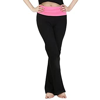 Nite Flite Womens Cotton Sports Trousers ,Black ,Small
