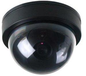 BW UKayed Fausse caméra de sécurité avec lampe LED