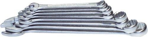 H & G Bague Jeu de clés mixtes à fourche 12 pièces 10–32 mm