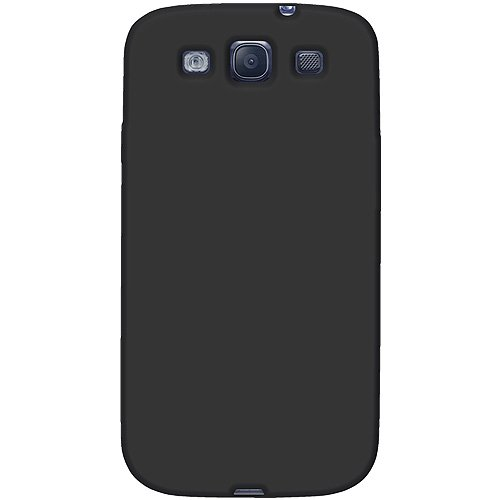 Amzer AMZ93951 Skin Jelly Case for Samsung Galaxy S3 Neo and S III GT-I9300 (Black)  available at amazon for Rs.239