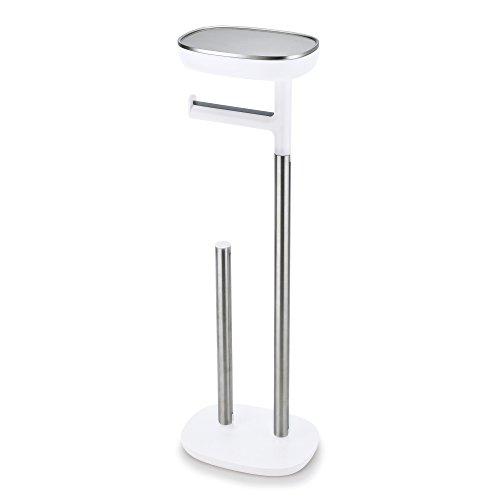 Joseph Joseph EasyStore, Toilettenpapierhalterung, Klopapierhalter, WC-Garnitur, Edelstahl