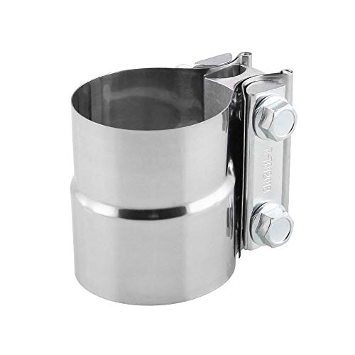 ZHANGBIN Coche modificado tubo de escape abrazadera de acero inoxidable en forma...