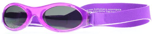 Baby Banz Violett Adventure Wrap Sunglasses