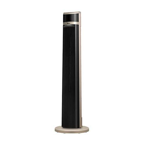 Turmventilatoren Verdunstungskühler Home Floor Fan Luft Fernbedienung Tower Fan Vertikale Silent Leafless Fan Runde kleine Desktop Tower Fan (Color : Champagne, Size : 30 * 30 * 103cm) - Kleine Desktop-tower