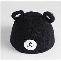 Young shinee Cappello per Bambini Orecchie da Orsetto Cappellino Antivento  con Cappello Lavorato a Maglia per f7a948c00df0