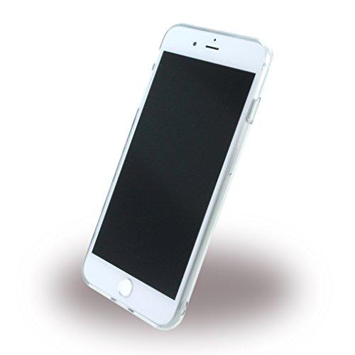 Guess Effet 3D TPU Étui pour Apple iPhone 7Plus silber