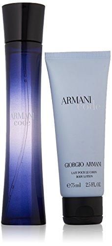 Armani code pour femme kit di regalo acqua di profumo, lozione per il corpo - 150 ml