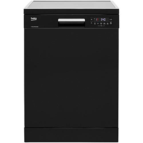 Beko DFN28R22B Full Size Dishwasher - Black
